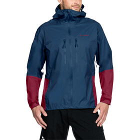 VAUDE Tremalzo II Rain Jacket Men fjord blue